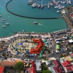 downtown marigot in saint martin