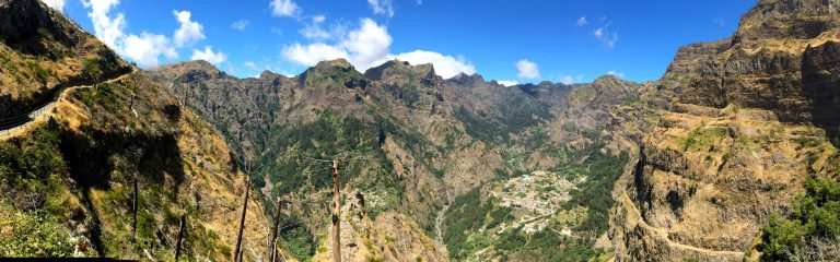 mountains madeira island